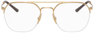 Ray-Ban Gold Youngster Glasses
