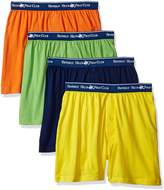 Beverly Hills Polo Club Men's Standard 4 Pack Knit Boxer