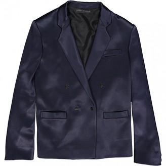 Anthony Vaccarello Navy Viscose Jackets