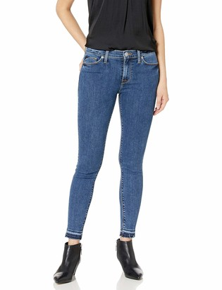 Hudson Women's Nico Midrise Ankle Skinny with Released Hem Jeans