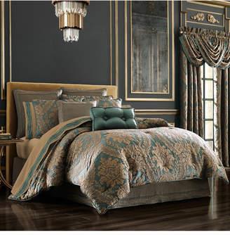 J Queen New York J Queen Montgomery Emerald Green Queen Comforter Set Bedding