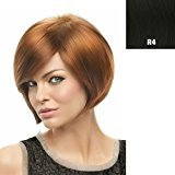 Hairdo. by Jessica Simpson & Ken Paves Tru2Life Styleable Wigs - Layered Bob - R4 Midnight Brown
