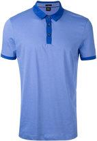 HUGO BOSS contrast polo shirt - men - Cotton - M