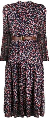 MICHAEL Michael Kors Floral Print Shirt Dress
