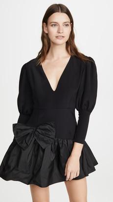 Viva Aviva Nicole V Neck Puff Sleeve Dress