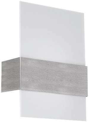"Nikita EGLO Wall Light 11.5"" Matte Nickel"