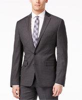 Ryan Seacrest Distinction Grey Solid Slim-Fit Jacket