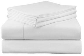 Pointehaven Luxury Weight Flannel Sheet Set Full Bedding