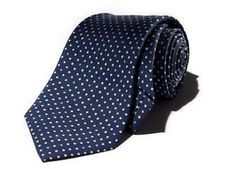 Drakes Drake's Neat Dot Silk Classic Tie