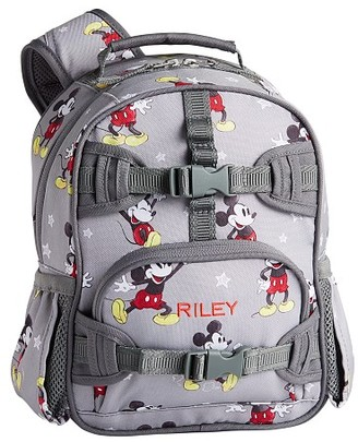 Pottery Barn Kids Mackenzie Gray Disney Mickey Mouse Backpacks