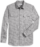 William Rast Men's Baker Camouflage Shirt