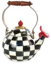 Mackenzie Childs MacKenzie-Childs Courtly Check Enamel Whistling Tea Kettle