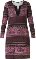 Yest Purple Pattern Dress