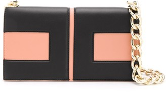 Elisabetta Franchi Two-Tone Shoulder Bag