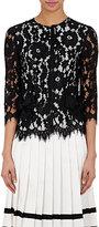 Marc Jacobs Women's Floral Corded-Lace Top-BLACK