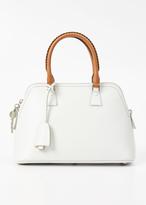 Maison Margiela white small leather 5ac handbag