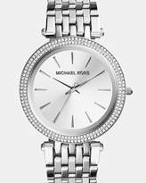 Michael Kors Darci Silver-Tone Analogue Watch