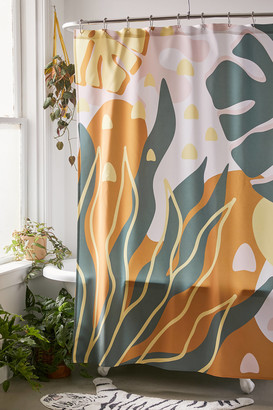 Deny Designs Alisa Galitsyna For Deny Floral Magic Shower Curtain