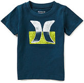 Hurley Baby Boys 12-24 Months Overspray Short-Sleeve Logo Graphic Tee