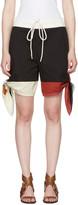 Chloé Multicolor Bow Shorts