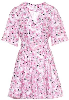 Gül Hürgel Floral linen minidress