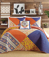 Jessica Simpson Charleval Patchwork Quilt