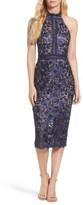 Xscape Evenings Women's Illusion Lace Sheath Dress