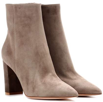Gianvito Rossi Exclusive to mytheresa.com – Piper suede ankle boots