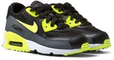 Nike Black and Yellow Air Max 90 Trainers