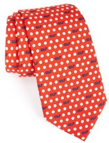 Vineyard Vines 'Polka Dot Geo' Silk Tie