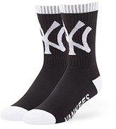 '47 47 Men's MLB New York Yankees Bolt Calf Socks,(Manufacturer Size:Large)