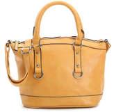 Women's Jemma Mini Satchel -Yellow Faux Leather