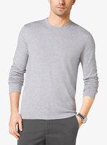 Michael Kors Long-Sleeve Cotton T-Shirt