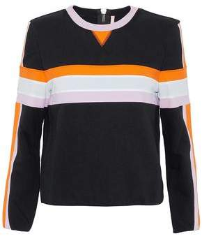 NO KA 'OI Color-Block Cotton-Blend Terry Sweatshirt