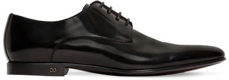 Dolce & Gabbana Positano Leather Lace-Up Shoes
