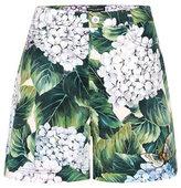 Dolce & Gabbana Cotton shorts with appliqué