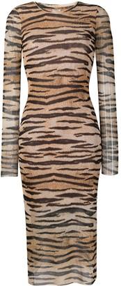 Baum und Pferdgarten Tiger Print Dress