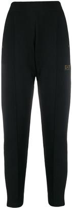 EA7 Emporio Armani Logo Plaque Trousers