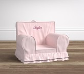 Pottery Barn Kids Pink Luxe Ruffle Anywhere Chair®