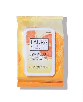 Laura Geller Brightening Makeup Remover Wipes - 30-count