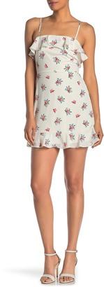 Rowa Sleeveless Ruffle Dress