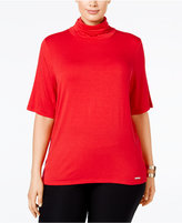 MICHAEL Michael Kors Size Funnel-Neck T-Shirt