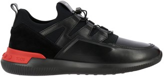 Tod's Tods Sneakers No Code Active Sport Tods Sneakers In Suede And Neoprene Leather With Elastic Laces