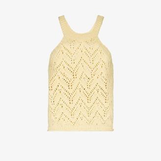 Missing You Already Crochet knit vest