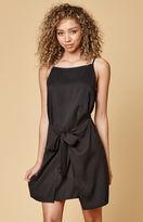 MinkPink Island Tie Front Dress