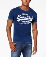 Superdry Men's vintage Logo Indigo T-Shirt