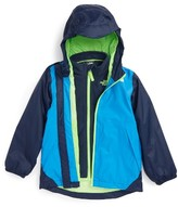 The North Face Toddler Boy's Stormy Rain Triclimate Waterproof & Windproof 3-In-1 Jacket