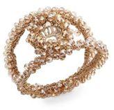 Kim Seybert Macrame Stone Napkin Ring