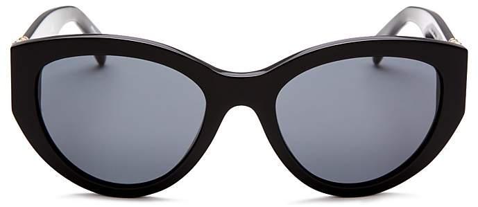 Moschino 012 Round Sunglasses, 54mm