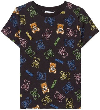Moschino All Over Teddy T-shirt